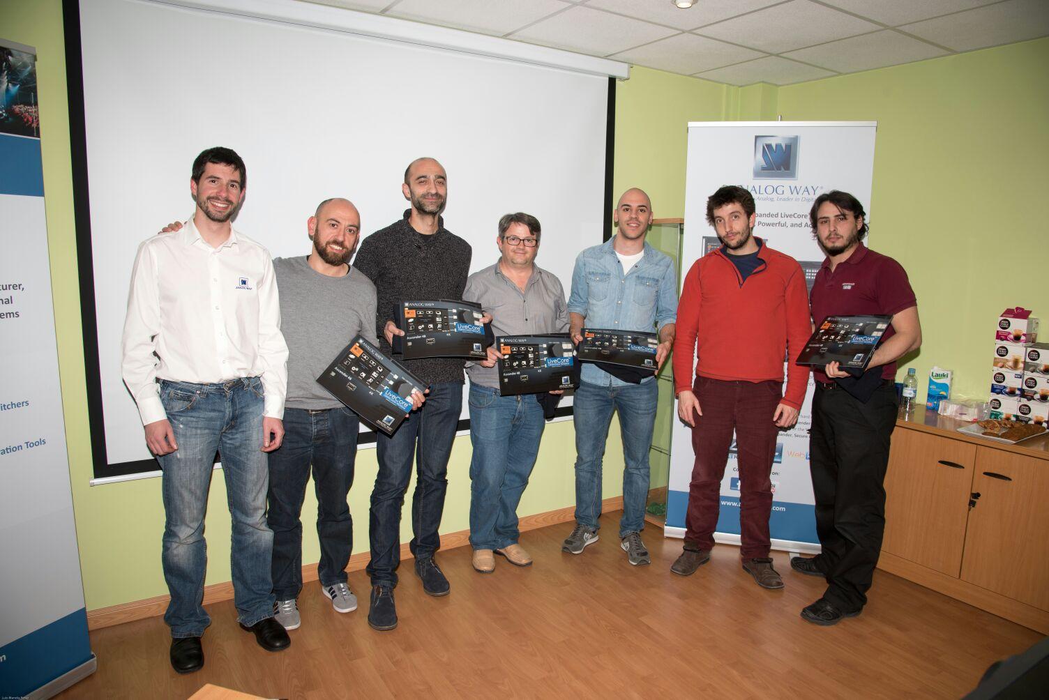 Formación LiveCore Madrid