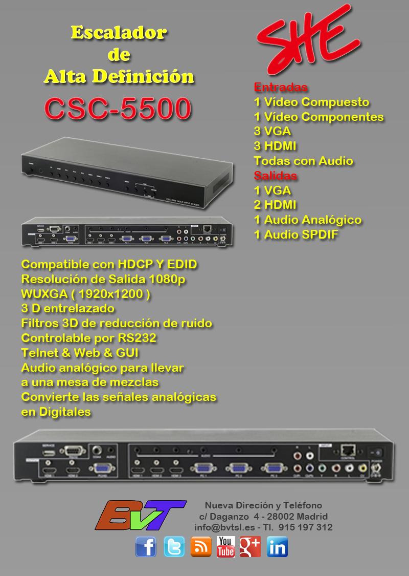 CSC-5500 Escalador de Cypress
