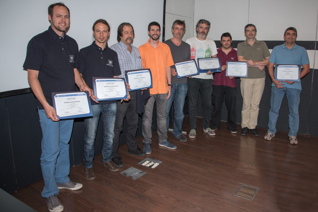 Certificados y Alumnos. Impartido por Ricardo Mendia/Madrid