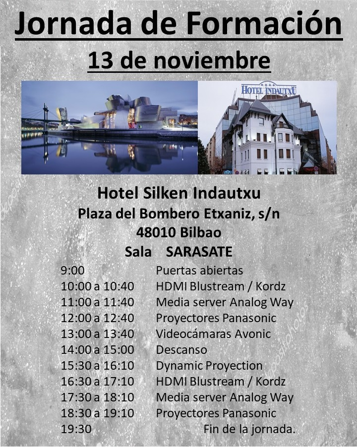 Roadshow Bilbao 13 de Noviembre de 2018